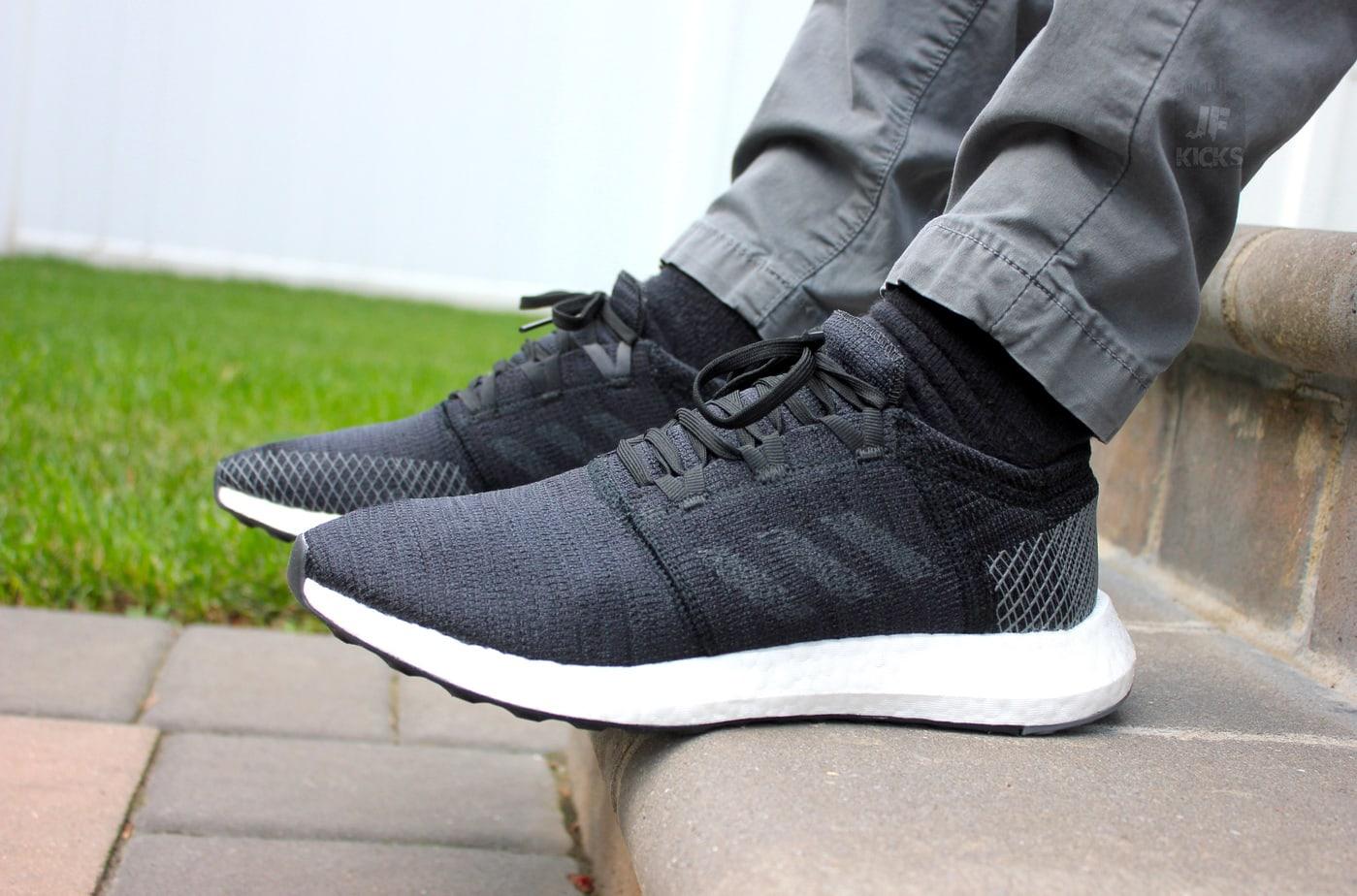 8a02fc882 adidas PureBoost Go On Foot Review - JustFreshKicks