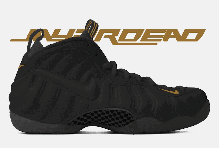 promo code 55179 afbae Nike Air Foamposite Pro Release Date  November 17, 2018. Price   230.  Color  Black Metallic Gold