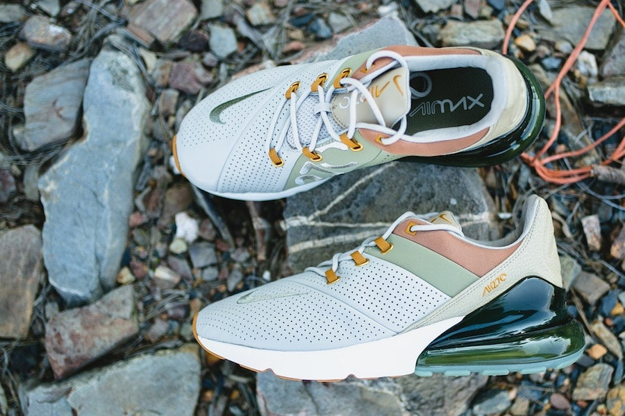 da79ab30f8168a Nike Air Max 270 Premium Release Date  Available Now Price   170. Color   String Desert Ochre