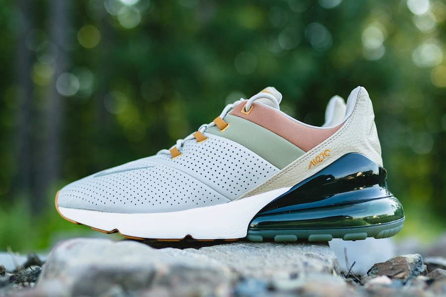 timeless design 6e1b6 fb94a The Nike Air Max 270 has already seen tons of variations and colorways  since its launch this year. Now, the Swoosh is upgrading the lifestyle Air  Max with a ...