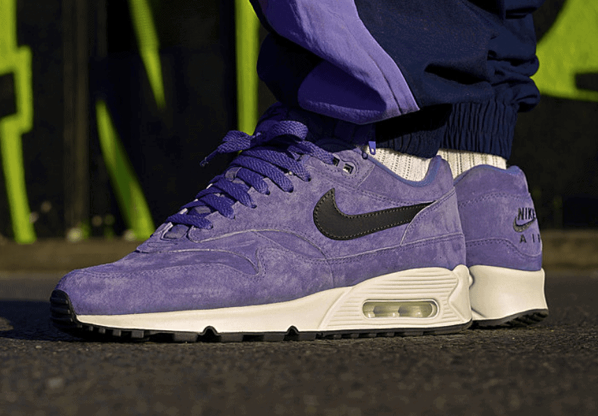 premium selection d9d98 0a5f2 Nike Air Max 90 1. Release Date  September 1st, 2018. Price   140. Color   Purple Basalt Anthracite-Summit White Style Code  AJ7695-500