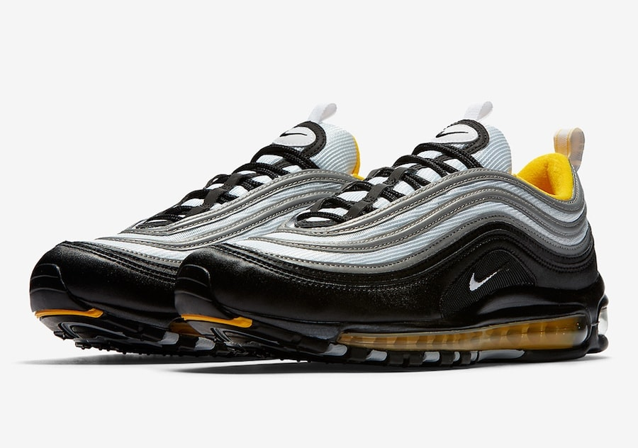 "Nike Air Max 97 ""Steelers"" Release Info"