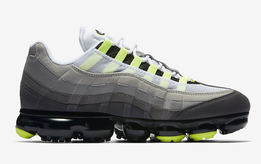 """84566710f02 The post Nike s New Vapormax 95 """"Neon"""" Surfaces in Official Images With a  Release Date Next Month appeared first on JustFreshKicks."""