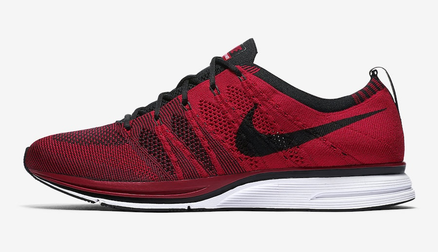 8ceb319369d9a Nike Flyknit Trainer Release Date  Summer 2018. Price   150. Color   University Red Black-White Style Code  AH8396-601
