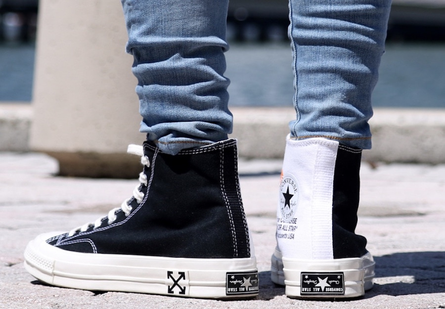 Off-White x Converse Chuck Taylor Release Date  Fall Winter 2018. Price    130. Color  Black-White-White Style Code  162204C-001 1fd5557f1