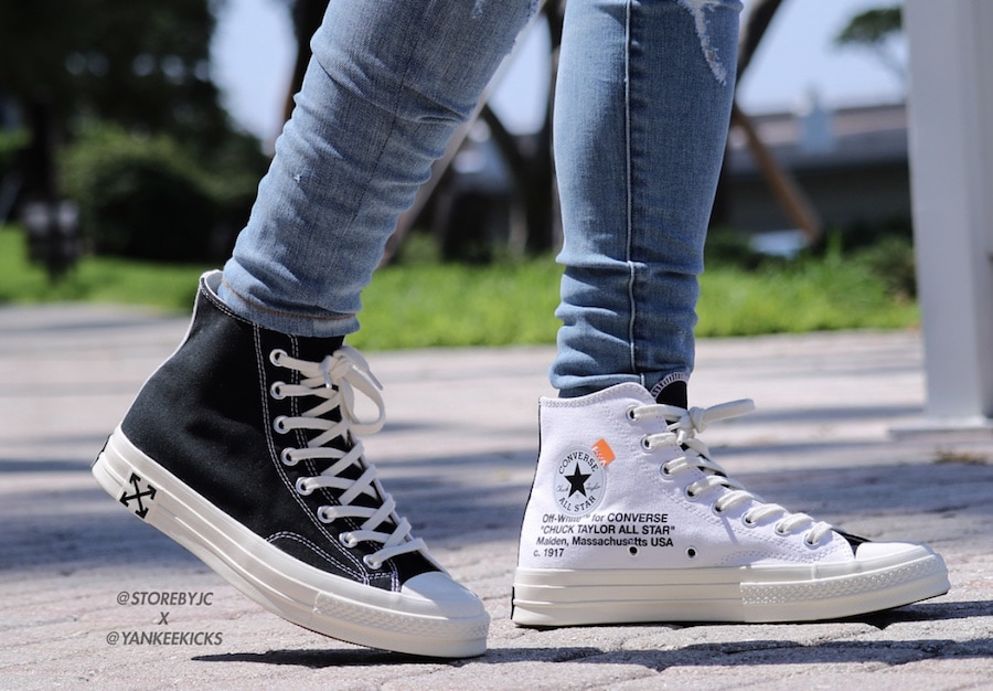 b1fd523b6c26 Off-White x Converse Chuck Taylor Release Date  Fall Winter 2018. Price    130. Color  Black-White-White Style Code  162204C-001