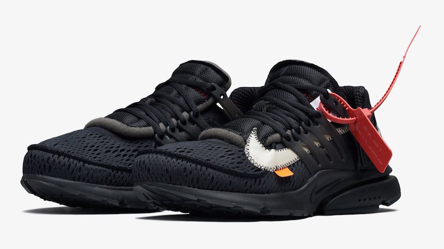 huge discount 290d7 f7c23 Off-White x Nike Presto – White Release Date  August 3rd, 2018 (Rumored)  Price   160. Color  White Black-Cone Style Code  AA3830-100