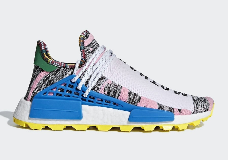 "ee197a5762dac Pharrell x adidas NMD Hu ""Solar Pack"" Release Date  August 18th"