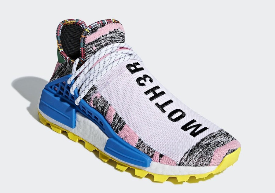 """0ddc6ce73 Pharrell x adidas NMD Hu """"Solar Pack"""" Release Date  August 18th"""