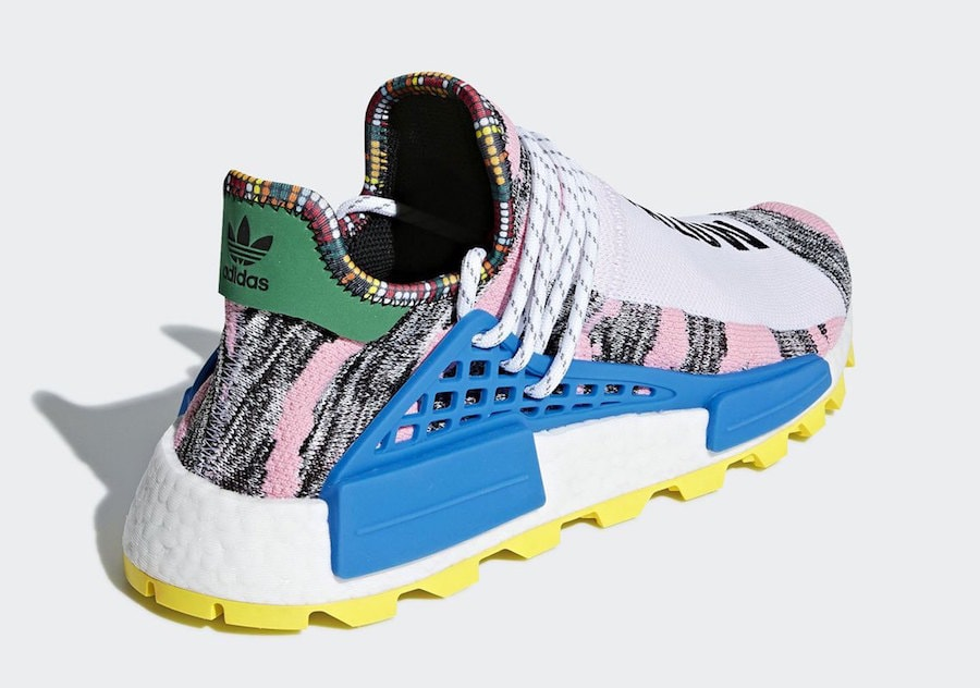 "c49b357e8 Pharrell x adidas NMD Hu ""Solar Pack"" Release Date  August 18th"
