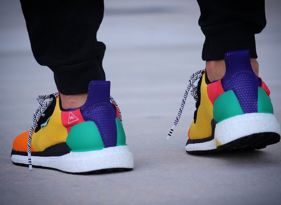 ef14393d64a8f Pharrell x adidas Solar Glide ST Hu 2018 Sample - JustFreshKicks
