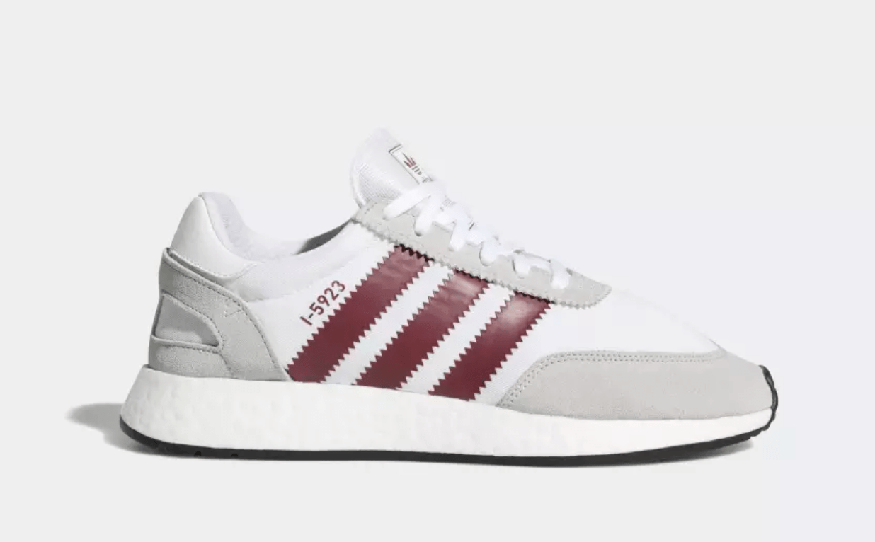 5d138fc6dd66 The post The adidas I-5923 Surfaces in Ash Green   Burgundy for the Summer appeared  first on JustFreshKicks.