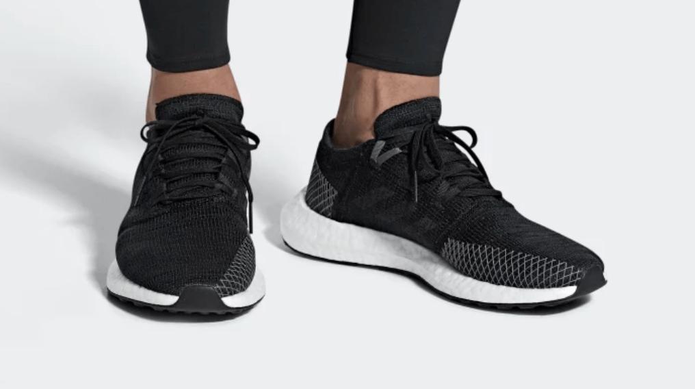 38413b1a60011 adidas PureBoost Go Grey   Black Release Info - JustFreshKicks