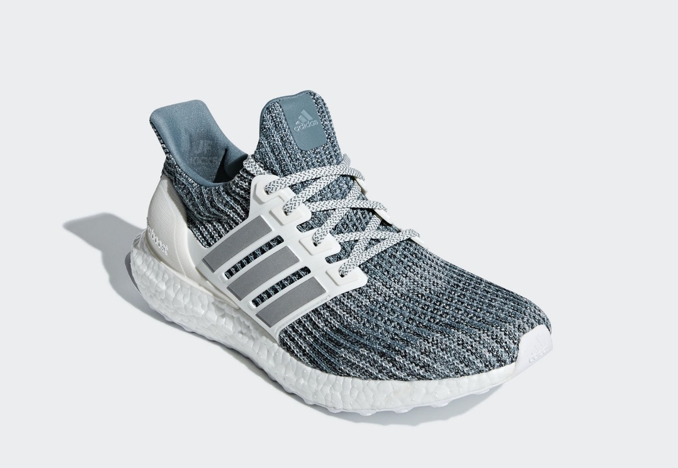 21c6408d7e2de Parley and adidas Upgrade Their Recycled Ultra Boost With Silver ...