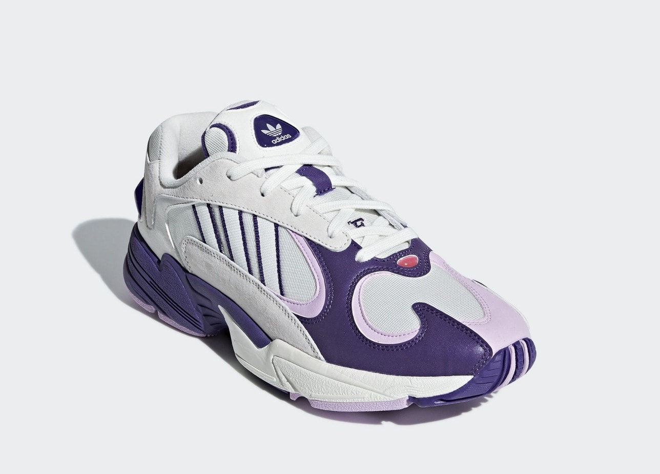 """438764ef873 Dragon Ball Z x adidas Yung-1 """"Frieza"""" Release Date  August 2018. Price    150. Style Code  D97048"""