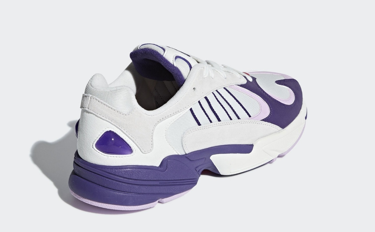 """new arrival bb7fb dd52f Dragon Ball Z x adidas Yung-1 """"Frieza"""" Release Date August 2018. Price  150. Style Code D97048"""