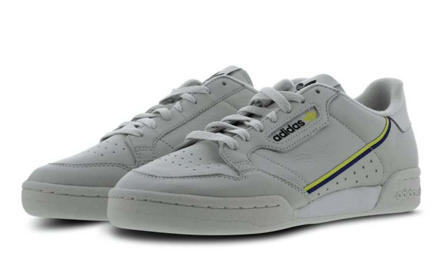 30e4b294536 adidas Continental 80. Release Date  Coming Soon Price   80. Color   Grey Yellow-Mystery Ink Style Code  917962-600