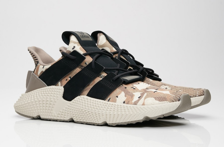 "0df07fa27f3 adidas Prophere ""Desert Camo"" Release Date  Coming Soon Price   120. Color  Simple  Brown Core Black-Clear Brown Style Code  B37605"