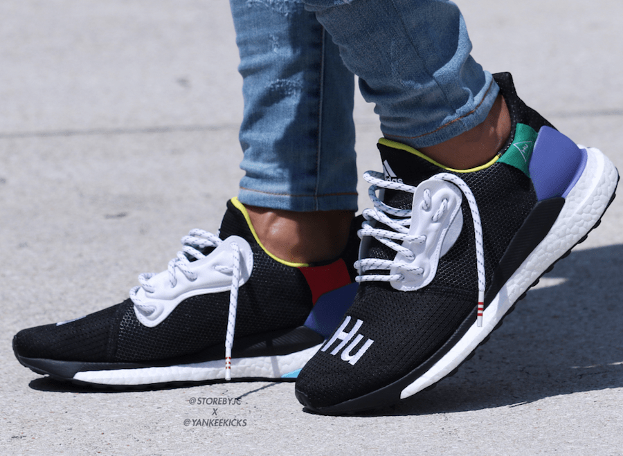 1ed8bad9b Pharrell Williams and adidas are constantly adding to their lineup of Hu  footwear. This month