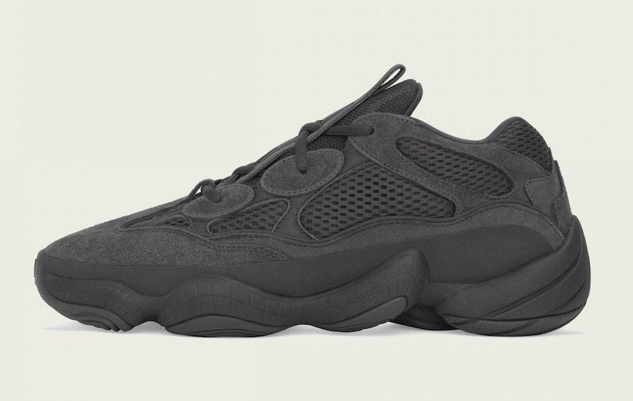 "f49099f82 adidas Yeezy 500 ""Utility Black"" Online Links   Raffles - JustFreshKicks"
