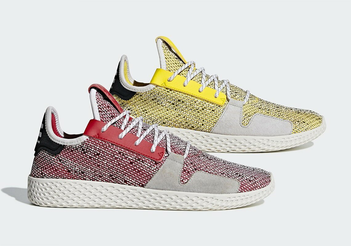 ff656737e79c9 Pharrell s extensive adidas Hu franchise is expanding once more. The Tennis  Hu originally launched in 2017 as Williams  take on the ever-popular Stan  Smith.