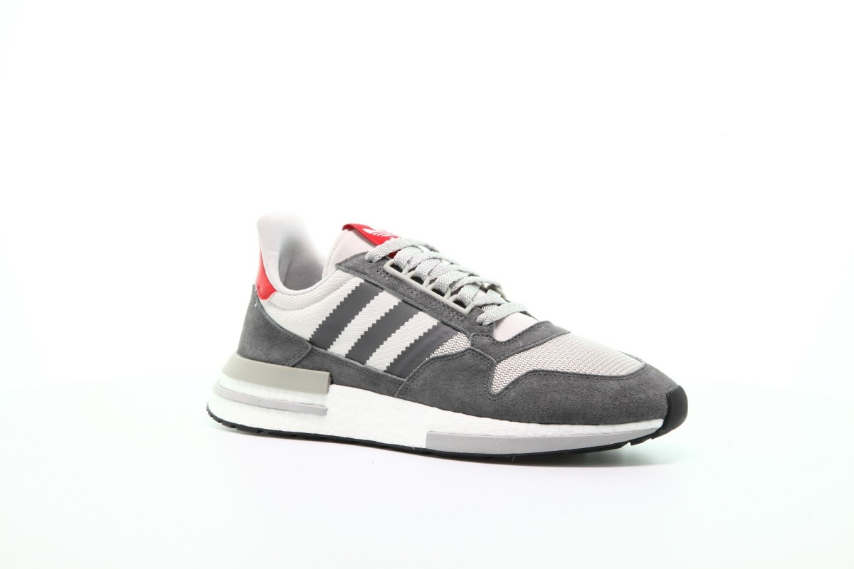 82fd57a98 adidas ZX500 RM Boost Grey Four   Grey Five Release Info ...