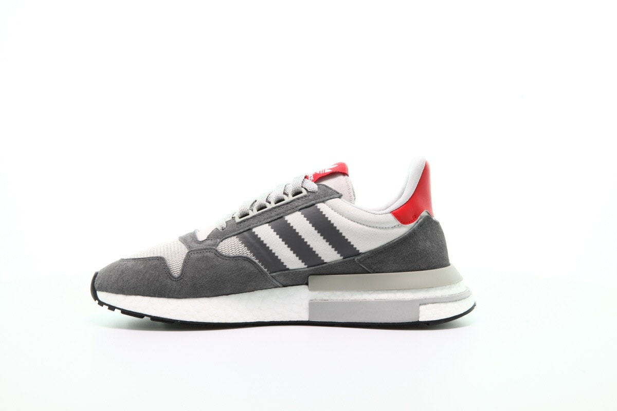 quality design 0a878 daf8b adidas ZX500 RM Boost Release Date July 7th, 2018. Price 160. Color Grey  FiveWhiteClear Orange Style Code B42217