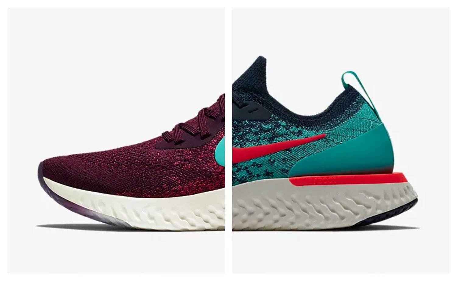 nike epico reagire flyknit luglio colorways disponibile justfreshkicks