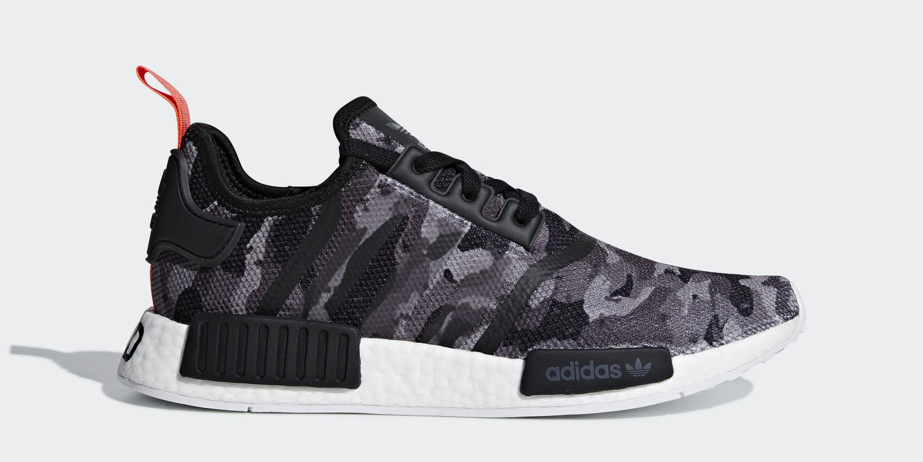 outlet store eebd8 f7c90 australia adidas nmd runner womens dark red pink shoes 99f65 ae418  order adidas  nmd r1 printed series grey grey solar red august 11 2018 f3ec1 7121e