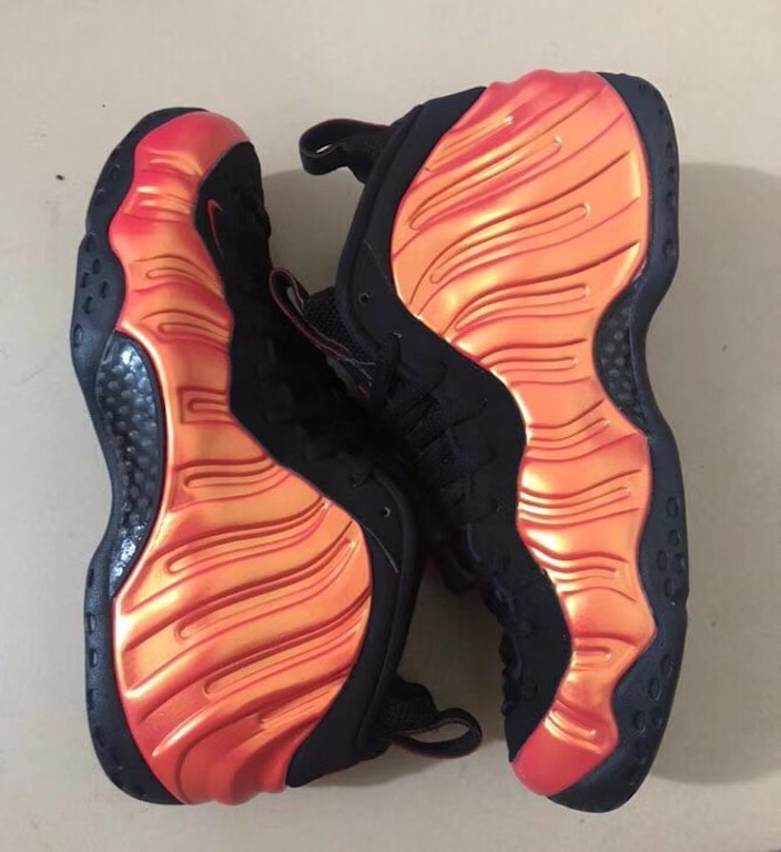 "41ac03f5139 Nike s Air Foamposite One Launches in a Halloween-Ready ""Habanero ..."