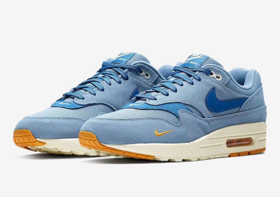 online store 2c956 c36b6 Nike s Premium Air Max 1 Launches in Work Blue Next Week