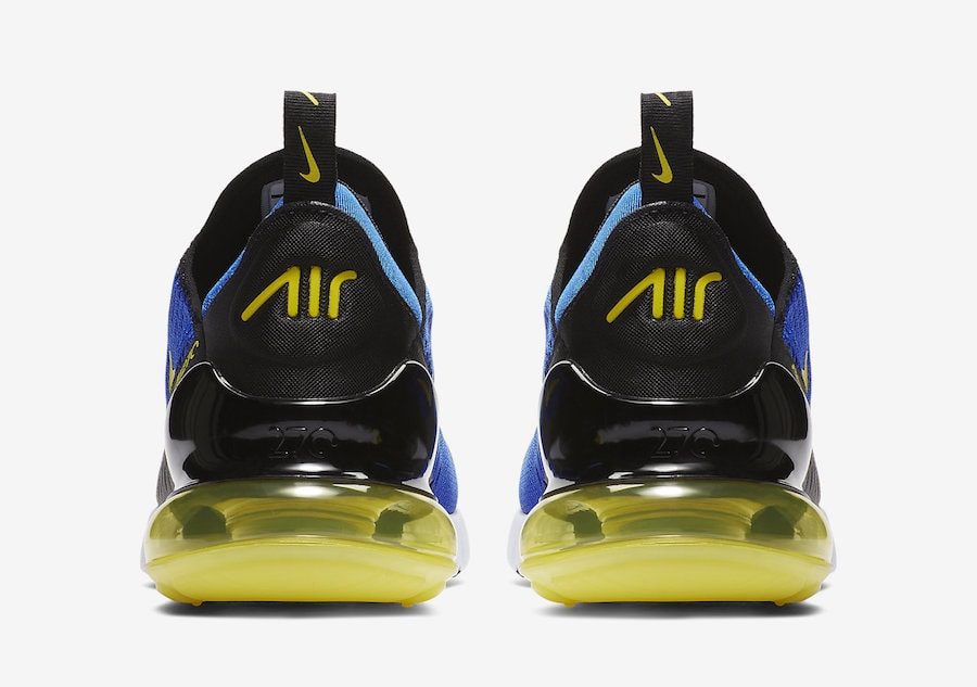 "94e198572c7b The post The Nike Air Max 270 is Set to Debut in a Bold Blue ""Warriors""  Soon appeared first on JustFreshKicks."