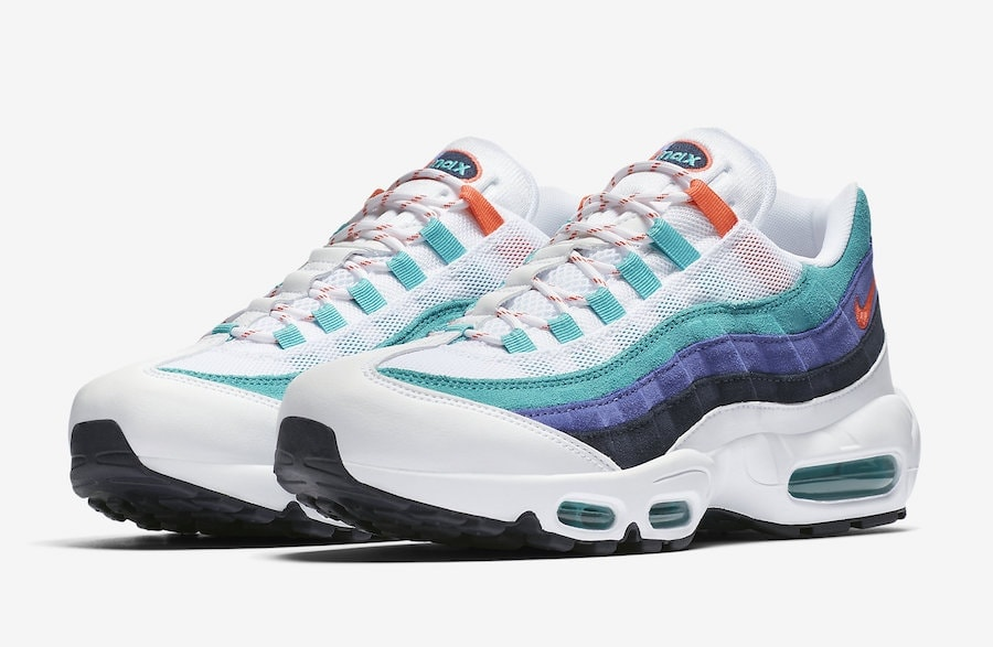 "quality design 1fb0c e142d Nike s Air Max 95 Surfaces in a Bright ""Hyper Jade"" For Release Soon"