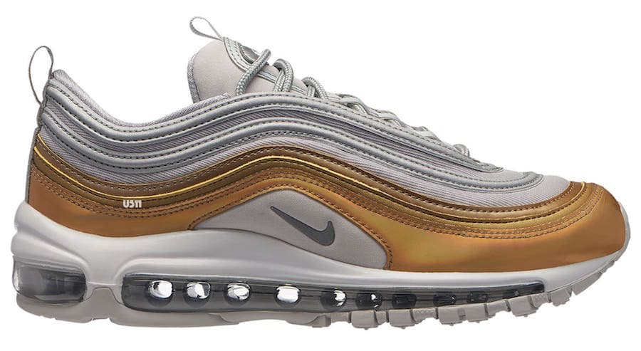 Nike Air Max 97 SE Release Date: November 23, 2018. Price: $160. Color: Metallic Gold/Metallic Gold Style Code: AQ4137-700