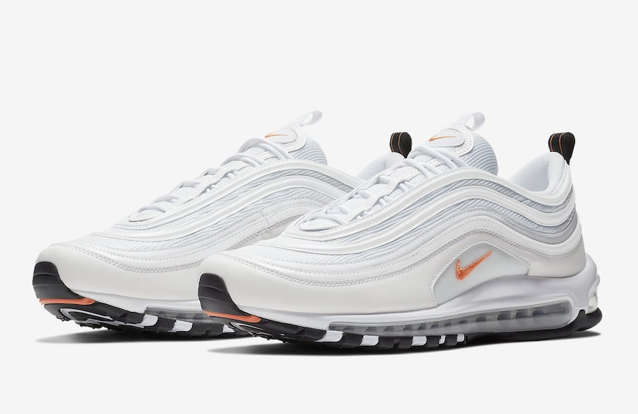 Nike Air Max 97. Release Date Coming Soon Price 160. Color  WhiteCone-Metallic Silver Style Code BQ4567-100