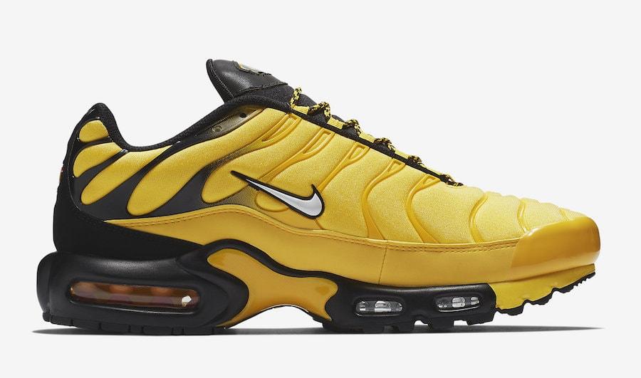 nike air max plus tour yellow release info justfreshkicks. Black Bedroom Furniture Sets. Home Design Ideas