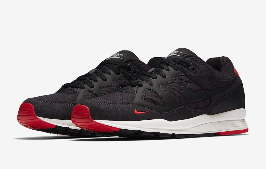 """4d388ed9d09a The post Nike s Air Span II Retro SE Debuts in a """"Bred"""" Theme This Month  appeared first on JustFreshKicks."""