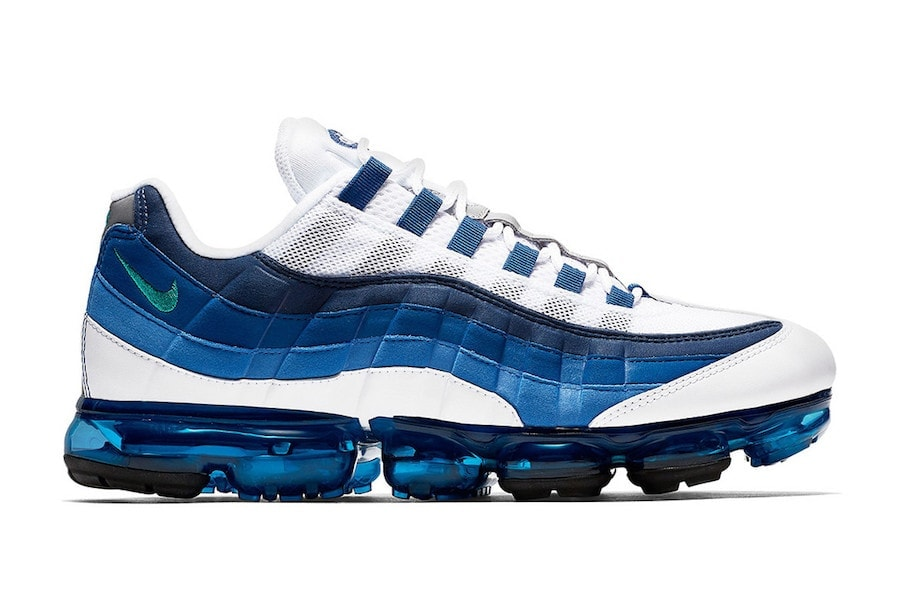 e24c1dc13a87 Nike Air Max 95 Obsidian University Blue Nike Air Diamond Turf 2 ...