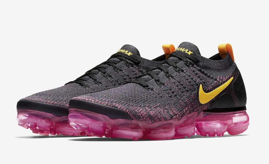 """best service 0d777 d31ac The post Nike s Air Vapormax Flyknit 2 is Coming in """"Pink Blast"""" Later This  Month appeared first on JustFreshKicks."""