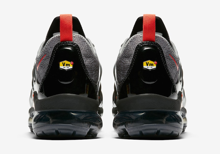 77d82e7b0c9ad Nike Air VaporMax Plus Release Date  Coming Soon Price   190. Color  Wolf  Grey Wolf Grey Habanero Red Style Code  924453-012