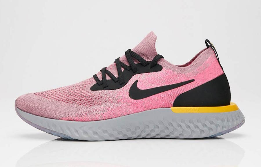 """07de00ae2267e Nike Epic React """"Plum Dust"""" Release Date  Available Now Price   150. Color   Plum Dust Black-Pink Blast-Ama Style Code  AQ0067-500"""