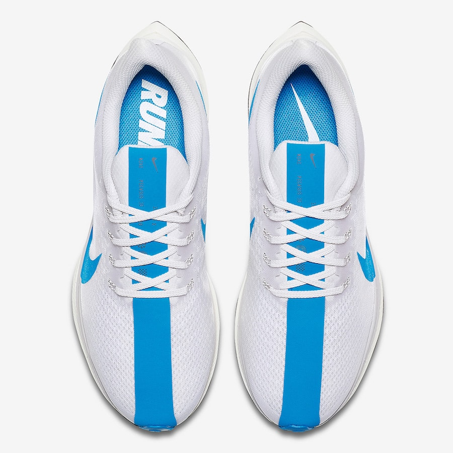 caafea6fa2d Nike Zoom Pegasus Turbo Color  White Blue Hero-Vast Grey-Blue Void Style  Code  AJ4114-140. Release Date  September 1
