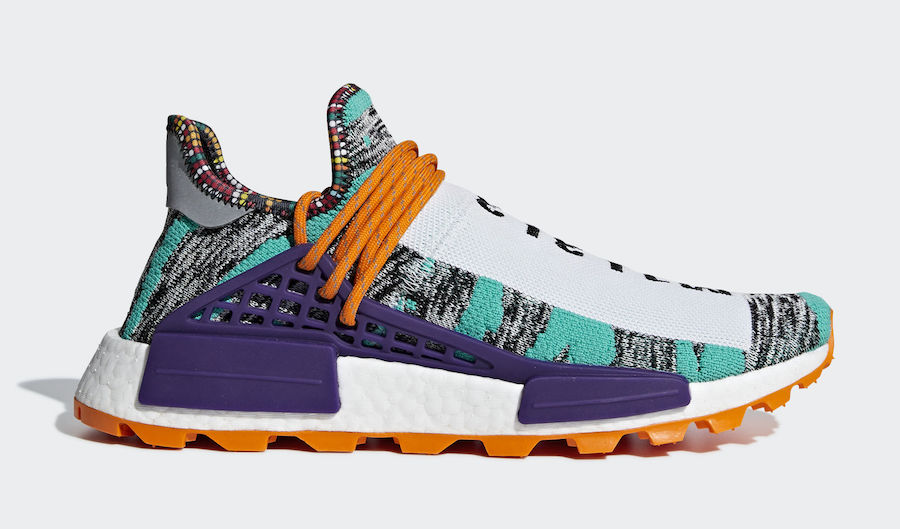 833fe1cdc Pharrell s Solar   Holi adidas Hu NMD Collections are Restocking ...