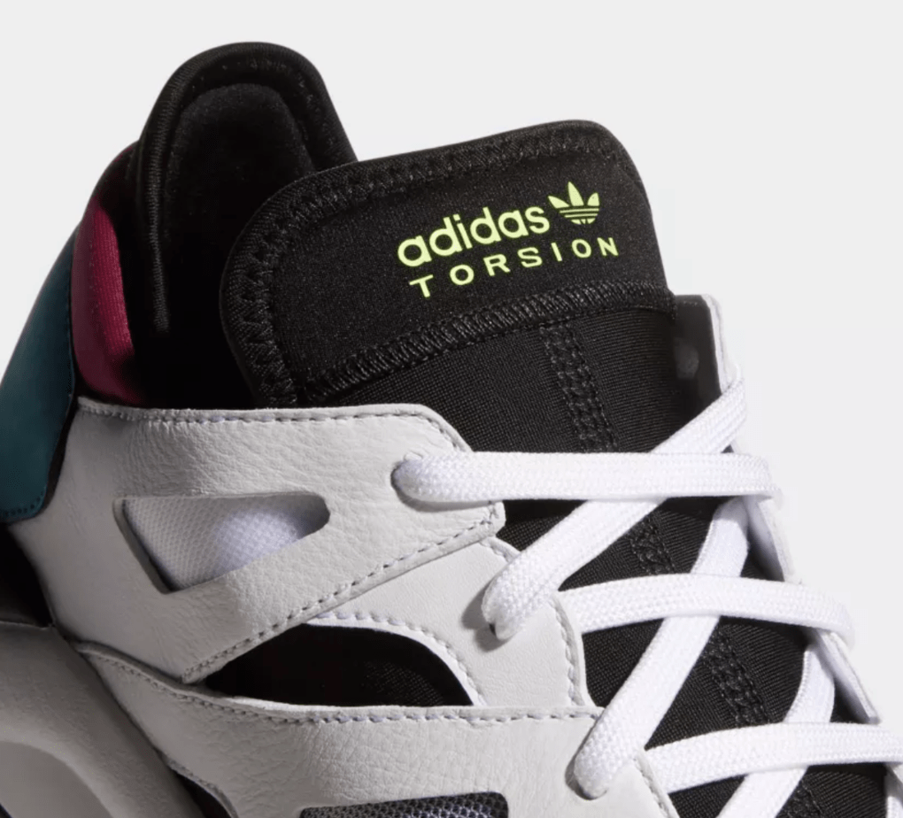 reputable site 50b0d 5df9b adidas Torsion Dimension Low Release Date September 1st, 2018. Price  130. Color Cloud WhiteCore BlackReal Teal Style Code F34418