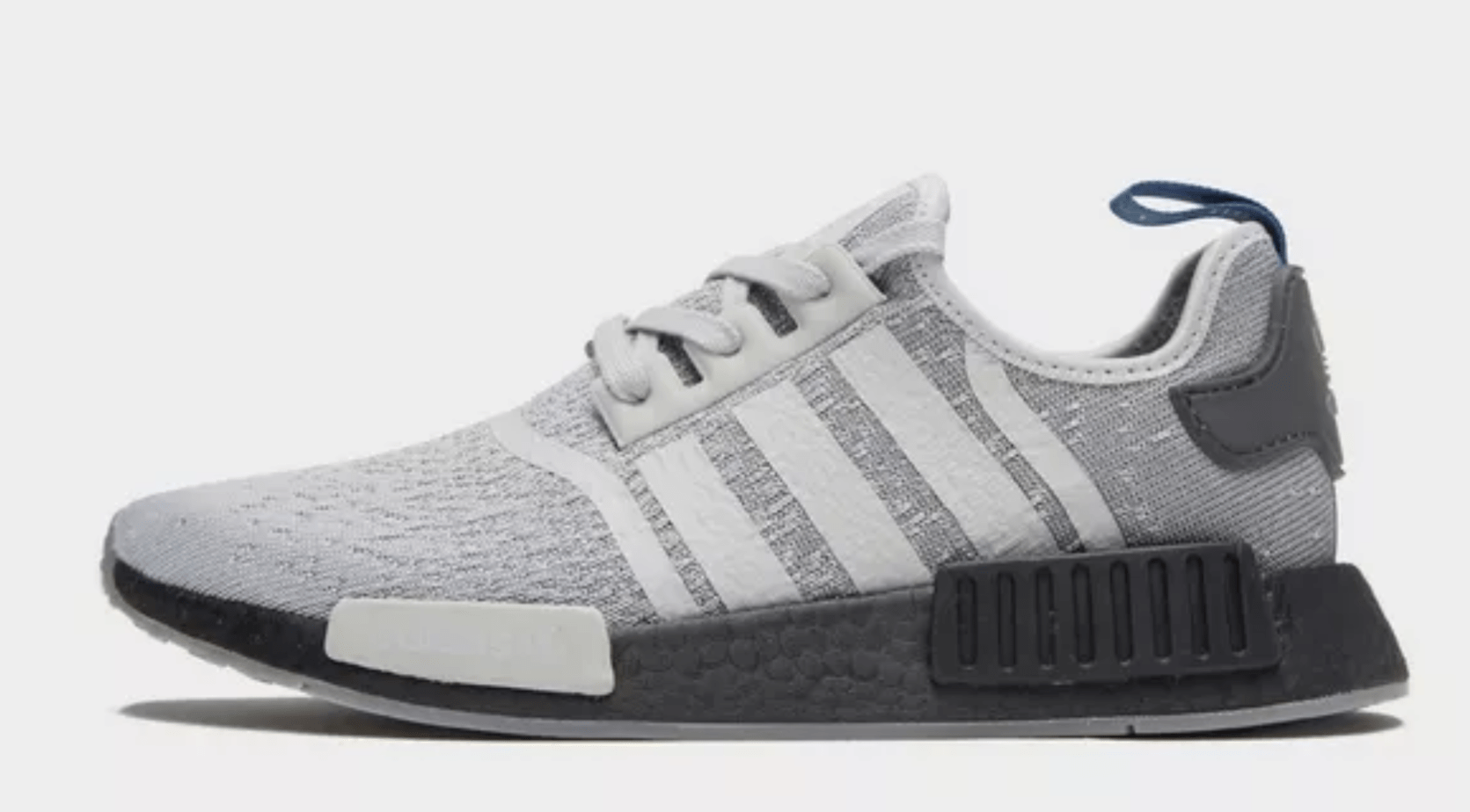 a77739d935519 adidas NMD R1 JD Exclusive Release Date  Available Now Price   130. Color   Grey Two Grey Three Core Black