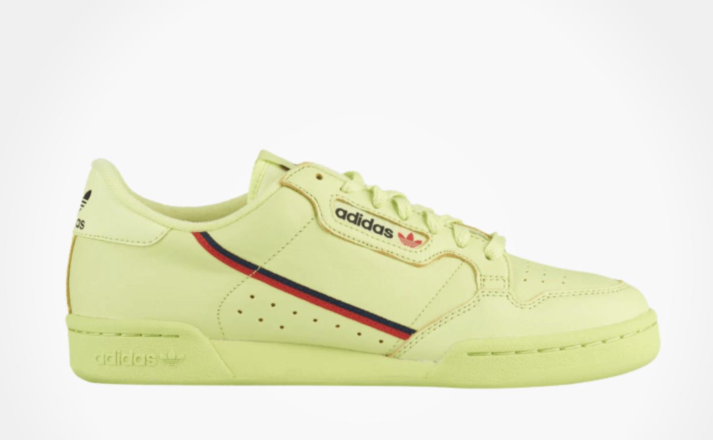 Abundancia Extensamente Levántate  adidas Continental 80's Yellow Blue Pink Release Info - JustFreshKicks