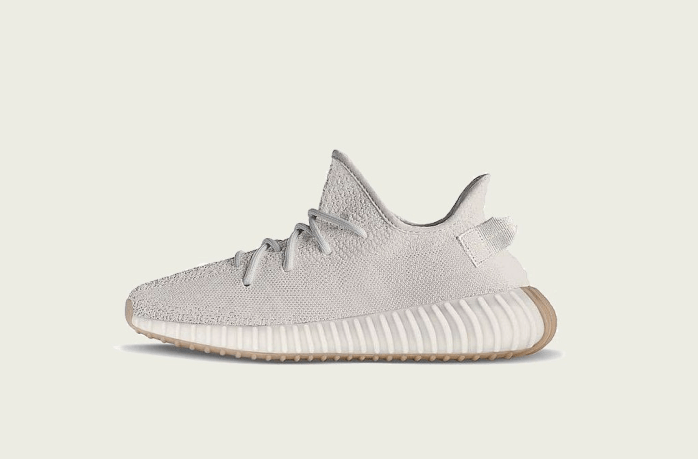 "The adidas Yeezy Boost 350 V2 has been in hiding for quite some time now. Nonetheless, we now have a great look at the Yeezy Boost 350 V2 ""Sesame"" dropping ..."