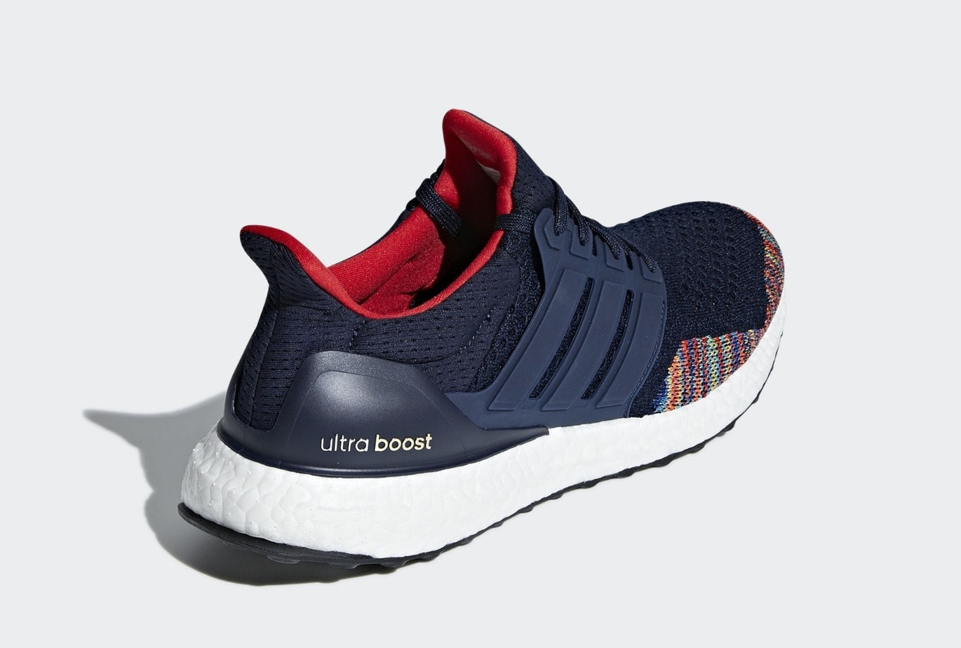 ec485f9c37bd5 adidas Ultra Boost 1.0 White   Navy