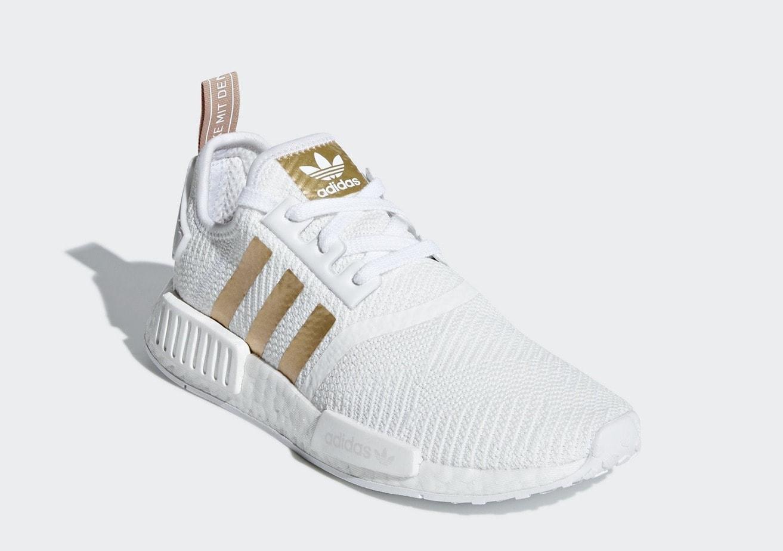 adidas NMD_R1 Gold Stripes Pack Release Info - JustFreshKicks