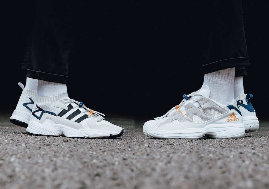 "online retailer 4090a f6c4a adidas Consortium Finally Unveils the ""Workshop"" Pack Featuring the Falcon  and SS2G"